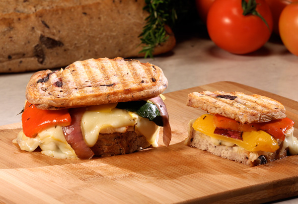 Turkey Muenster Panini