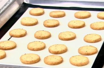 Lemon Pepper Parmesan Crackers Recipe