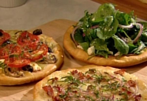 Cristina Ferrare's Mini Pizzas