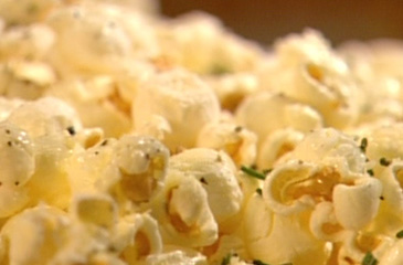 Rosemary, Parmesan and Black Pepper Popcorn