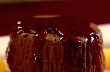 Warm Flourless Chocolate Cake recipe