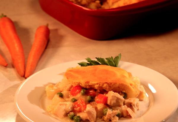 Cristina Ferrare's Chicken Pot Pie recipe