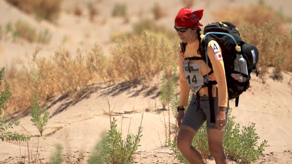 Web Exclusive: Norma Bastidas Races Through the Desert