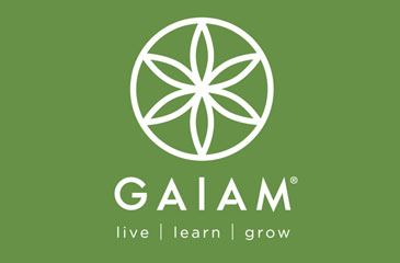 Gaiam's Wake Up Work Out Logo