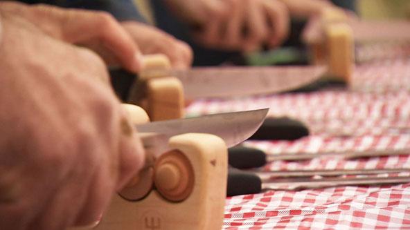 The Knife Sharpener Test