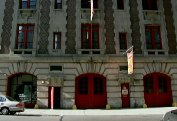 Exterior of the New York City Fire Museum