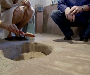 Randall and Indre, The Miracle Detectives, Examine the Holy Dirt of Chimayo