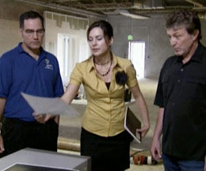 Indre and Randall with video expert Jim Underdown