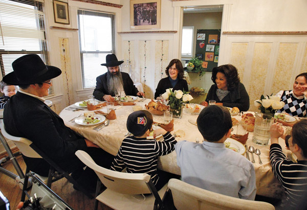Oprah Winfrey and Hasidim