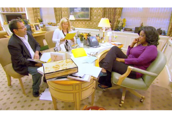 Jack, Sheri and Oprah