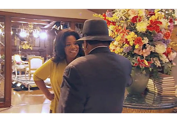 Oprah and Joe Jackson