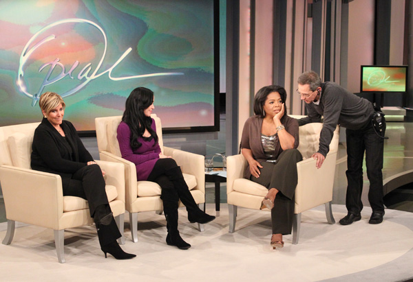 Suze Orman, Nadya Suleman and Oprah