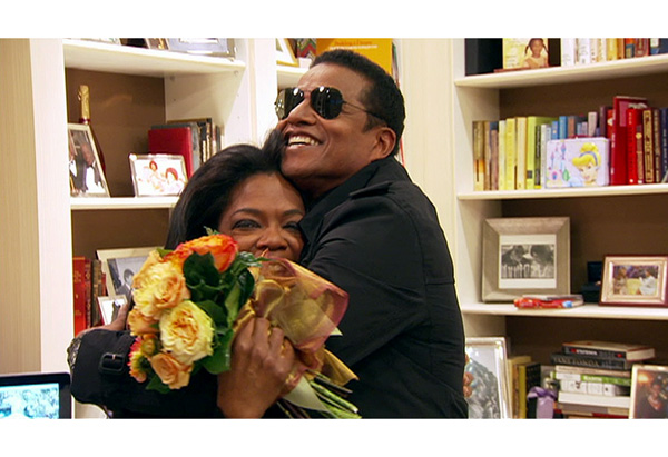 Jackie Jackson and Oprah