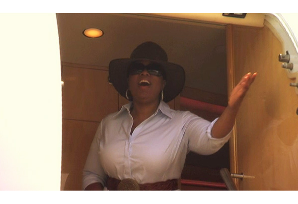 Oprah lands in Australia