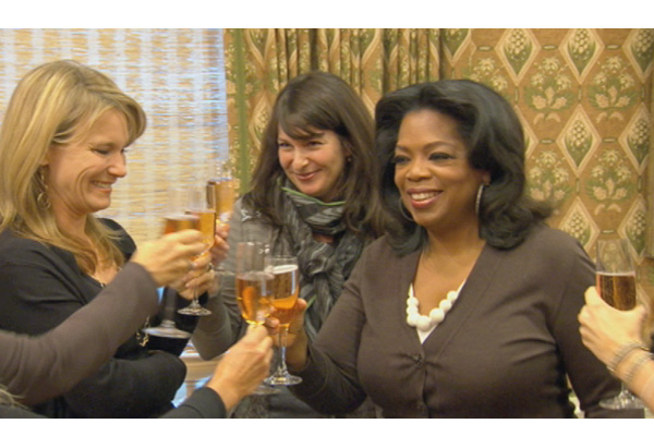 Oprah's birthday party