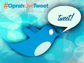 Oprah's Live Tweet Event