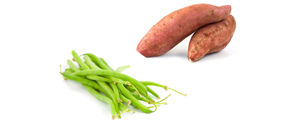 Yams and Green Beans