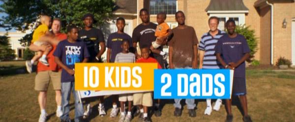 10 Kids 2 Dads