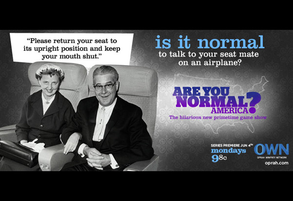 Is it normal to talk to your seat mate on an airplane?