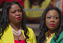 Oprah and Iyanla Vanzant Stand with a Former Teen Mother - Video