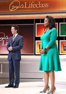 Oprah and Joel Osteen