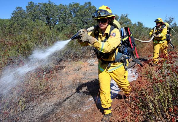 Firefighter Rosanne Grier