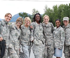 Alaska Army Wives on GI Jane Day