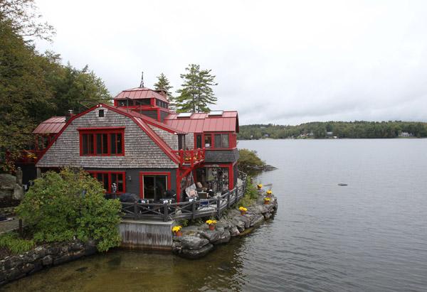 Steven Tyler's New Hampshire home
