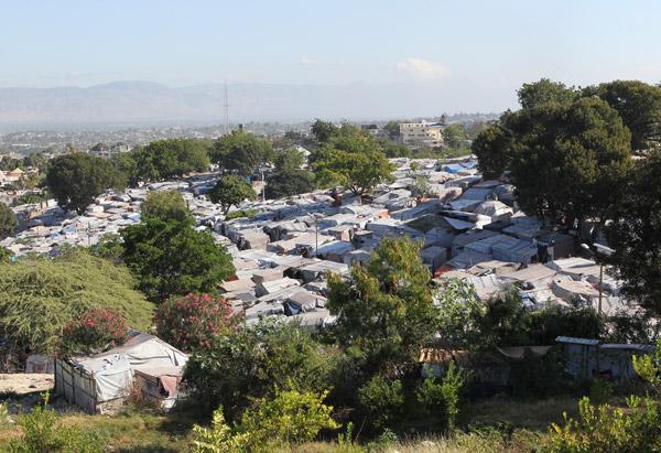 J/P HRO tent camp