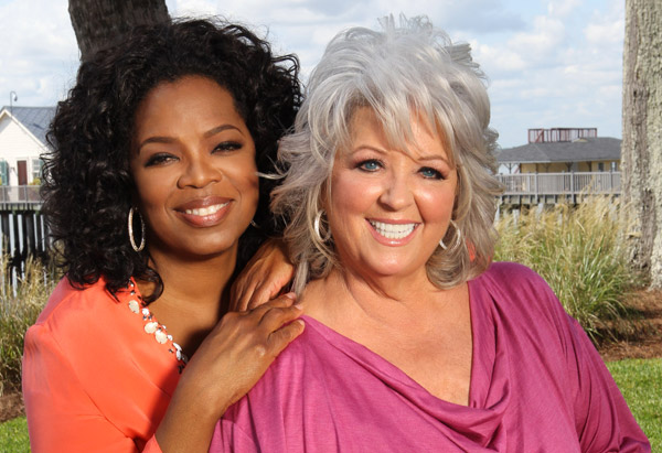 Oprah Winfrey and Paula Deen