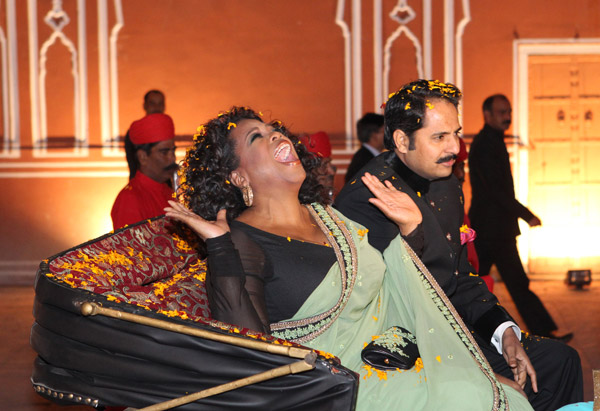 Oprah and Narenda Singh Rajawat