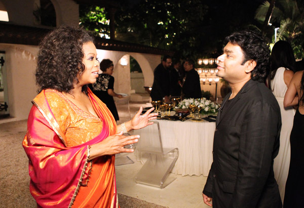 Oprah talks to A.R. Rahman.