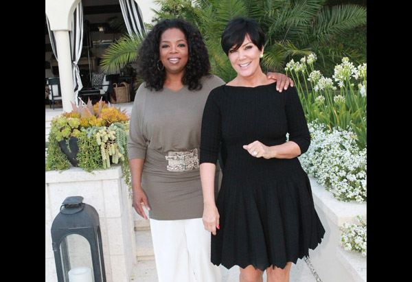 Oprah Winfrey and Kris Jenner