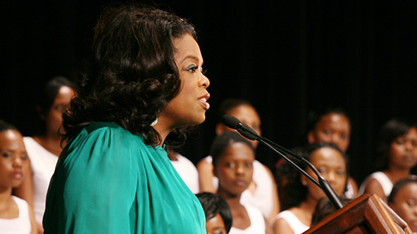 Graduation Day at the Oprah Winfrey Leadership Academy - Video
