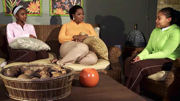 The Sisters Oprah Will Always Hold in Her Heart - Video