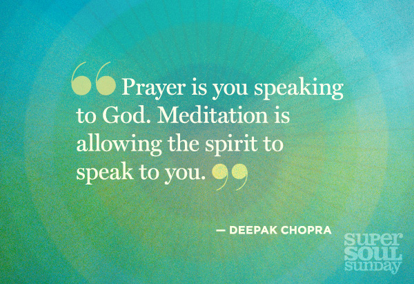 Quotation from Deepak Chopra