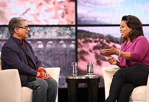 Oprah and Deepak Chopra