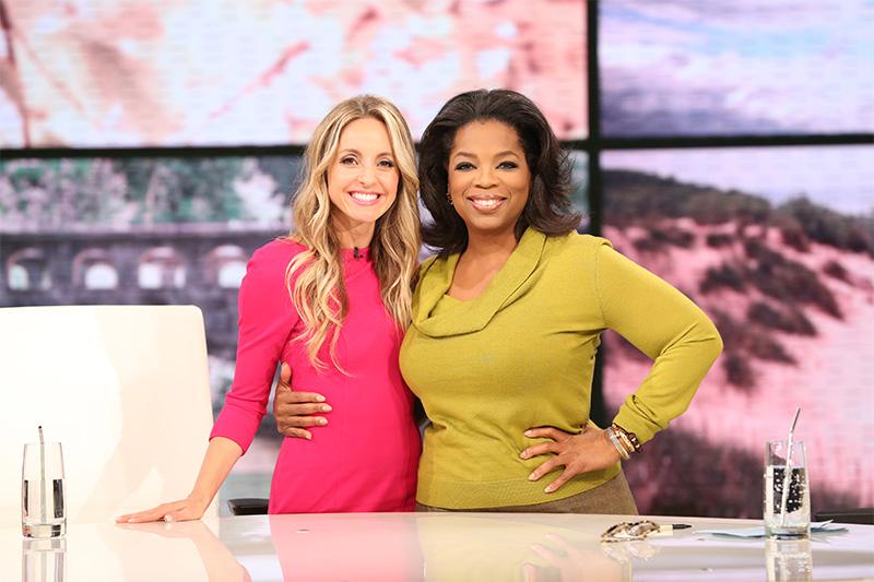 Oprah Winfrey and Gabrielle Bernstein