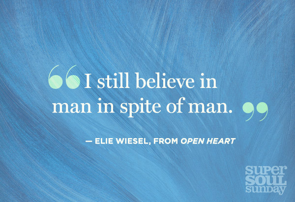 Elie Wiesel quotation