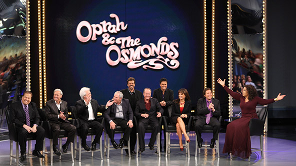 Moment #5: The Osmonds Honor Their Father on The Oprah Show - Video