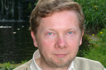 Best-selling author Eckhart Tolle
