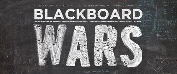 Blackboard Wars logo
