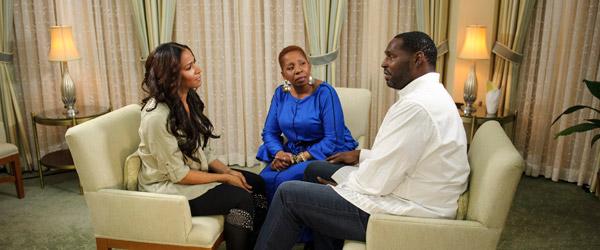 Iyanla Vanzant with Sheree and Bob Whitfield
