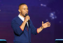 DeVon Franklin Warms Up the Crowd at Megafest - Video