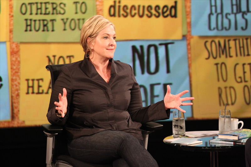 Why Brené Brown Says There's No Vulnerability Without Trust