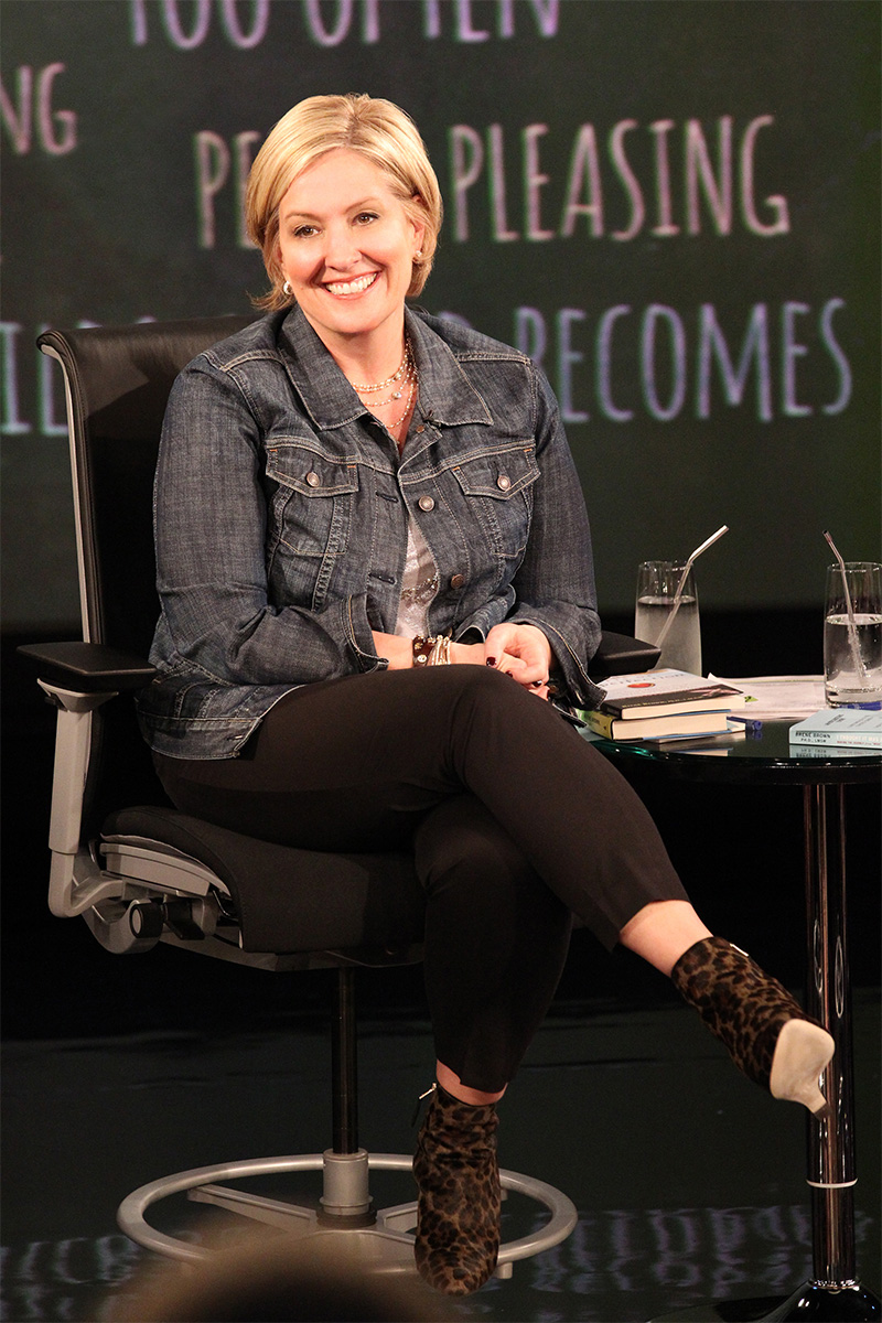 Brené Brown Reveals the 2 Things You Need to Start Living Bravely