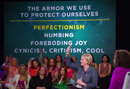 Why Brene Brown Says Perfectionism Is a 20-Ton Shield -Video