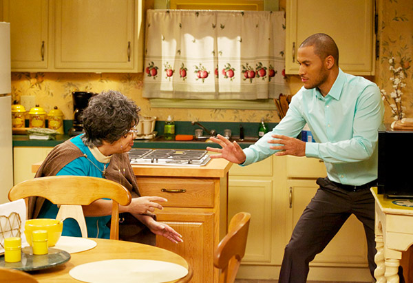 Andre Hall and Patrice Lovely as Danny and Hattie Mae