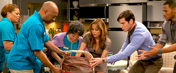 Kendra Johnson, Palmer Williams, Zulay Henao, Patrice Lovely, Jonathan Chase and Andre Hall