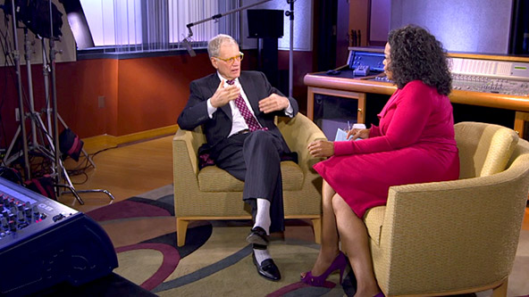Oprah Settles Her Feud with David Letterman - Video